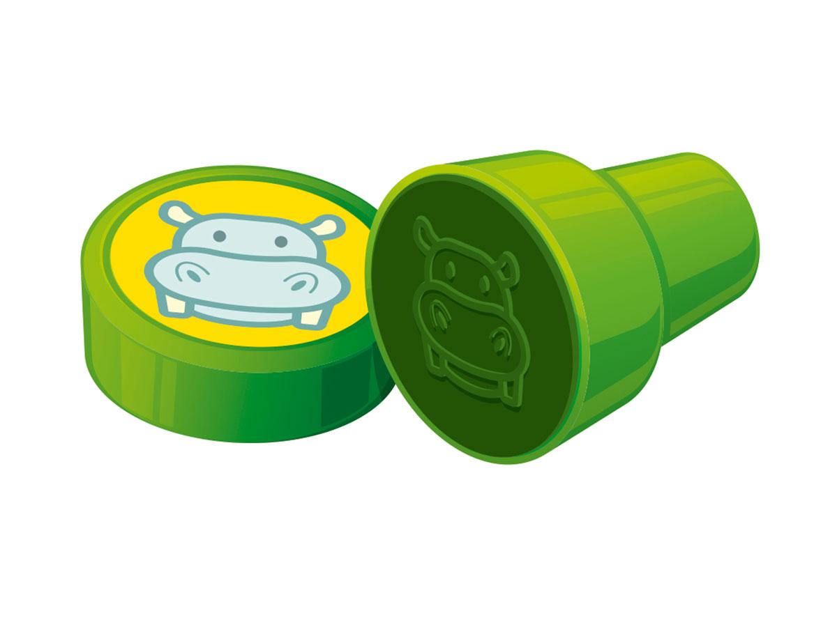 Carimbo Stamp Animais, Caixa Com 24 Unidades, Cis - Cores Sortidas - 423500