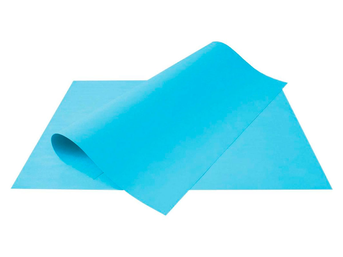 Cartolina Azul 50x66cm 140g Pct C/100 - Scrity