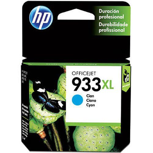 Cartucho 933XL ciano CN054AL HP