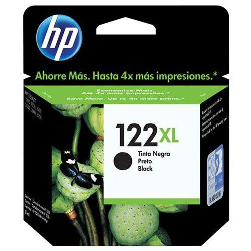 Cartucho de Tinta HP  Preto 122xl CH563HB