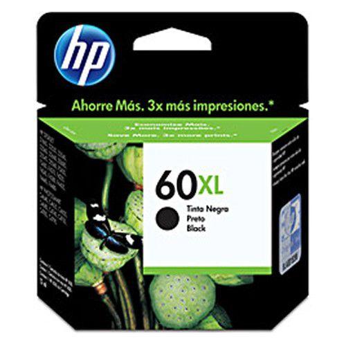 Cartucho HP60XL Preto CC641WB HP