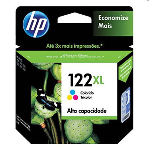 Cartucho HP 122XL colorido CH564HB