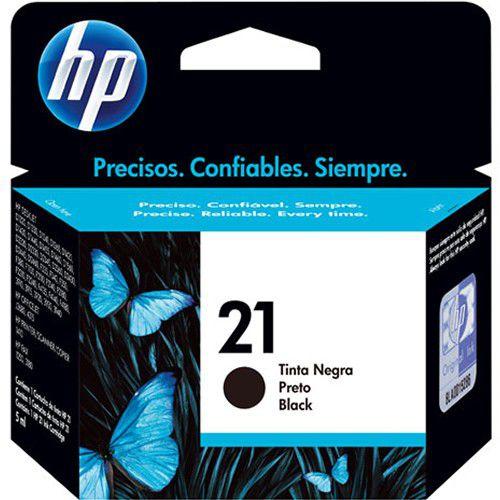 Cartucho HP 21 Preto C99351AB