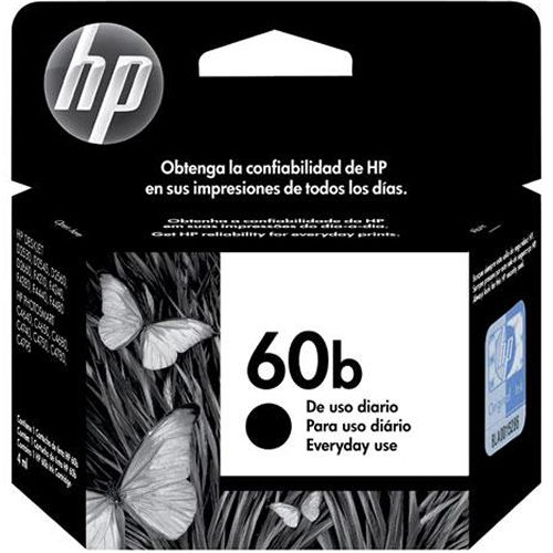 Cartucho HP 60B Every Day Preto CC636WB