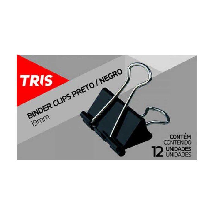 CLIPS TRIS 19MM METAL PTO BINDER CX 12-UN - 664682