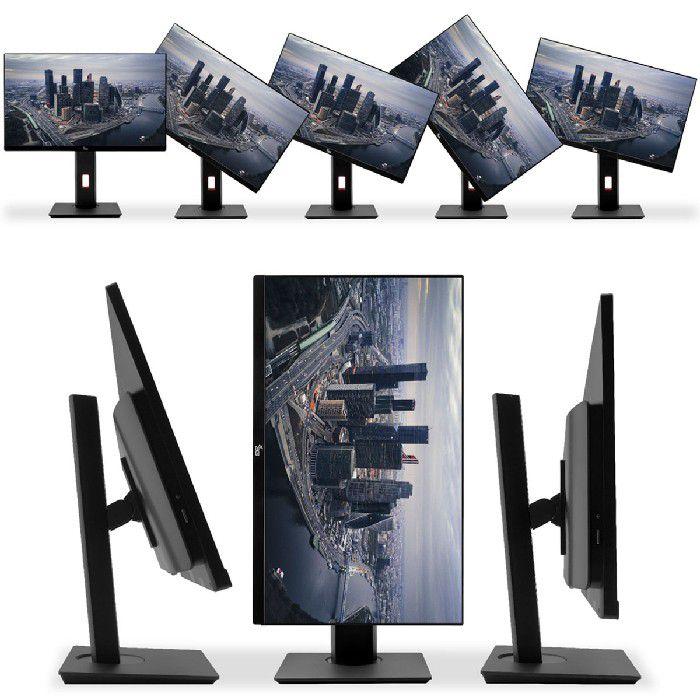 Computador All In One 3Green Intel I5 2.4GHz, 8GB, HD 500GB, Linux, Ajuste Alt/Rotação, Preto