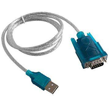 Conversor USB A Macho X Serial DB9 Macho 1,0 Mts ROHS