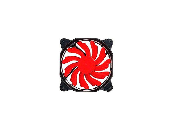 Cooler 12x12 Empire LED Vermelho DX-12F