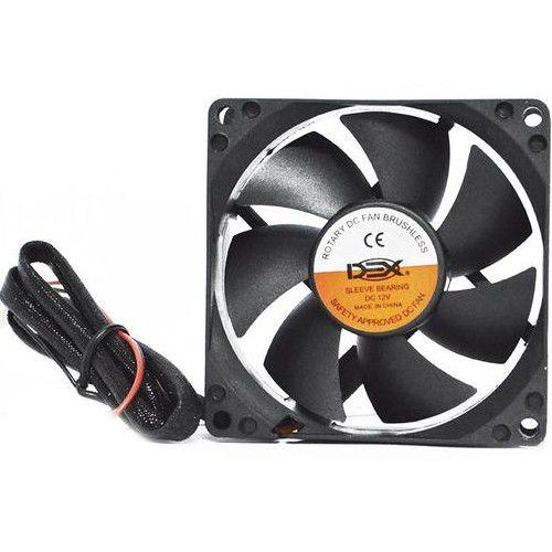 Cooler 80x80 DEX DX-8C 2500 12V GV 4196