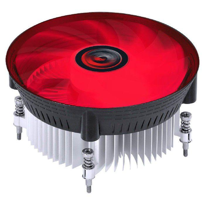 Cooler para Processador Intel Pcyes Nótus I300 LED Vermelho 120mm TDP 100W PAC120PRLV