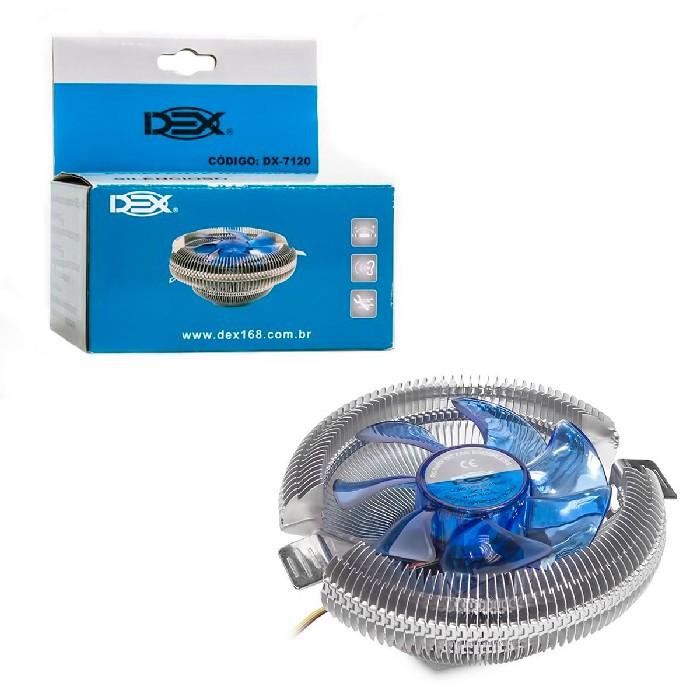 Cooler para Processador Universal GV Brasil DX-7120 COL.607 Intel/AMD