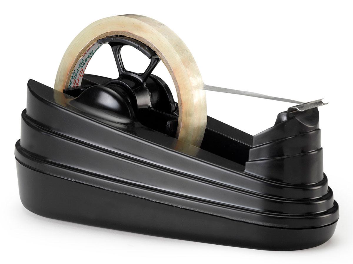 Dispensador de Fitas Adesivas Grande Waleu - Preto - 10010005