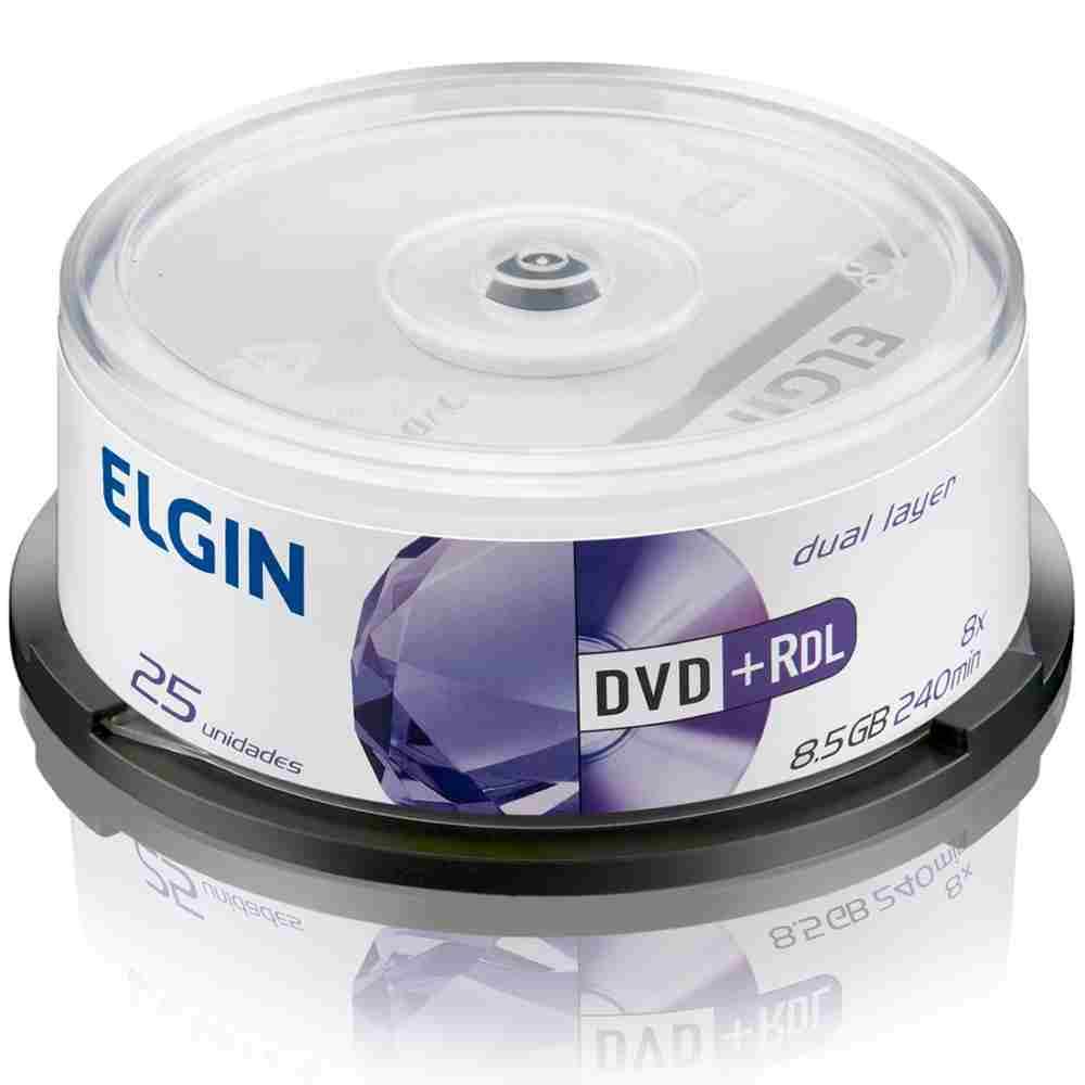 DVD+R DL Elgin Pino 25 Unidades 82095