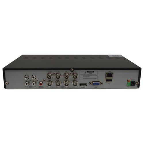 DVR HVR Stand Alone 8 Canais ECD LV-DVR9808 Luxvision