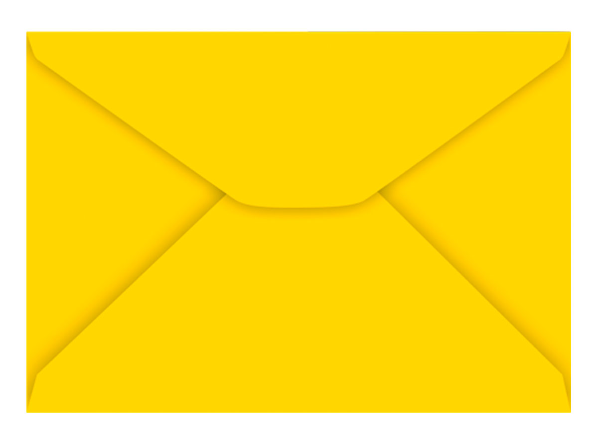 Envelope Carta Amarelo 80g, Caixa C/ 100 Unidades, Foroni