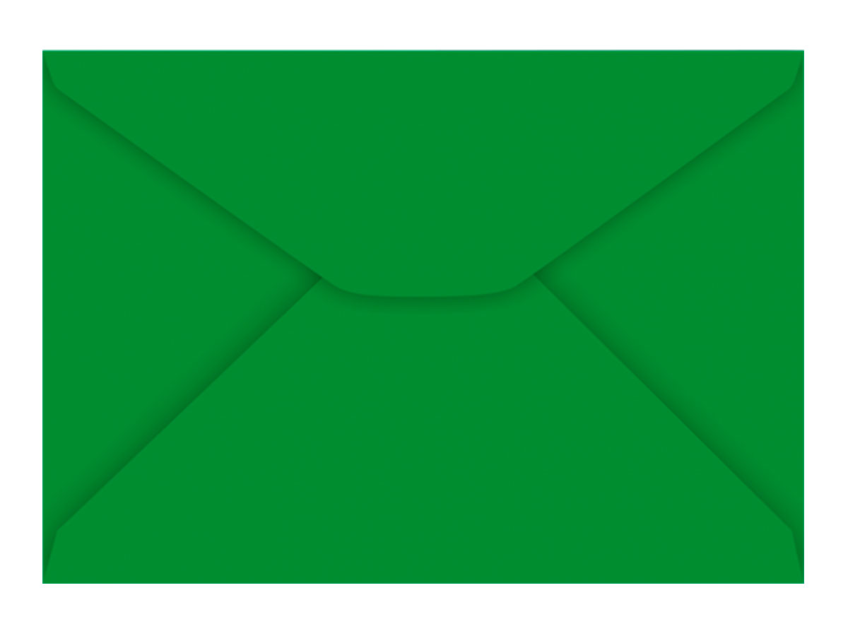 Envelope Carta Verde Escuro 80g, Caixa C/ 100 Unidades, Foroni
