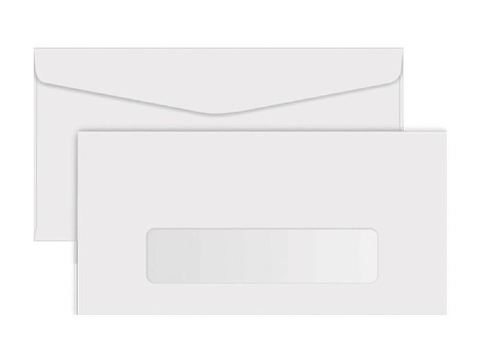 Envelope Ofício C/ Janela 75g, Caixa C/ 1000 Unidades, Foroni