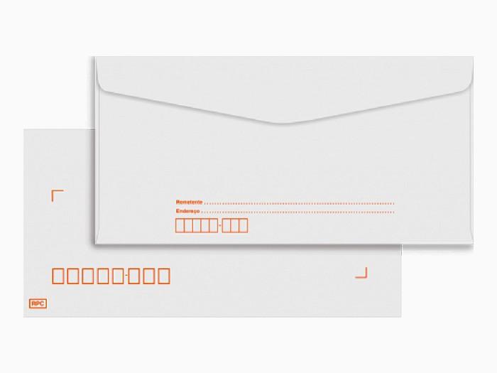 Envelope Oficio RPC (artico) 6300, 114 x 229 mm, 63 gr,  Caixa Com 1000 Unidades, Foroni