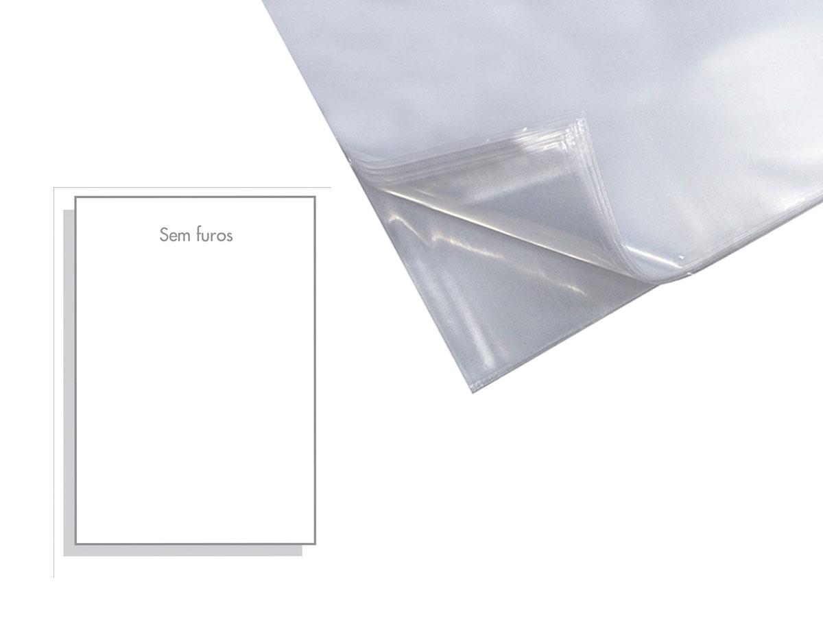 Envelope Plastico Oficio Sem Furo 0,10mm, Pacote Com 600 Unidades - ACP - 010SF