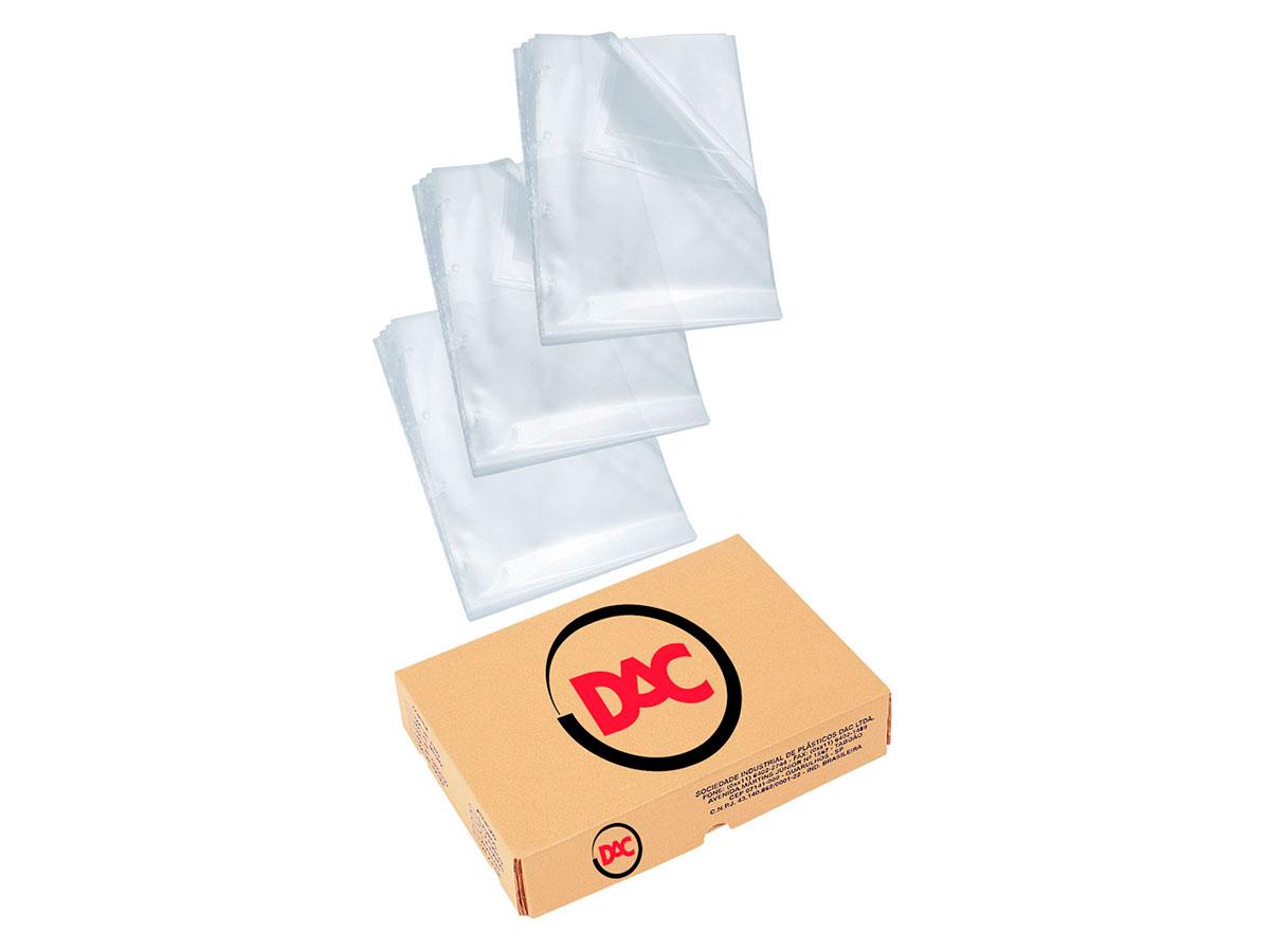 Envelopes Plásticos Finos, Ofício S/ Furo, Pacote C/ 1.000 Unidades, Dac