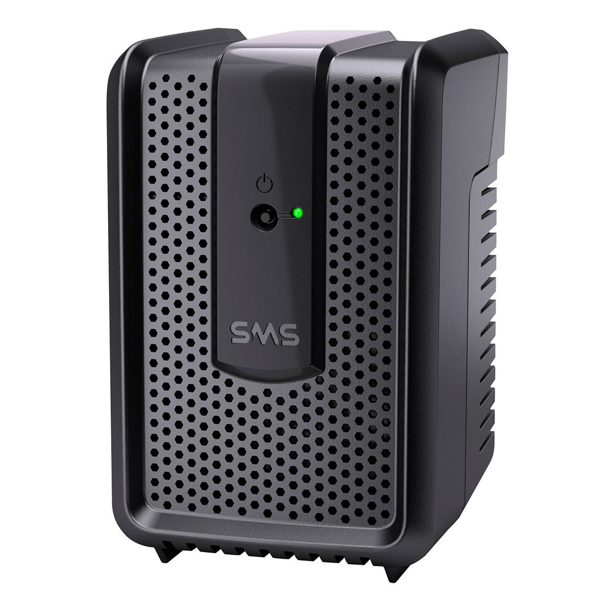 Estabilizador SMS Revolution Speedy 300VA, Entrada Bivolt Automático, Saída 115V, 4 Tomadas - 15970