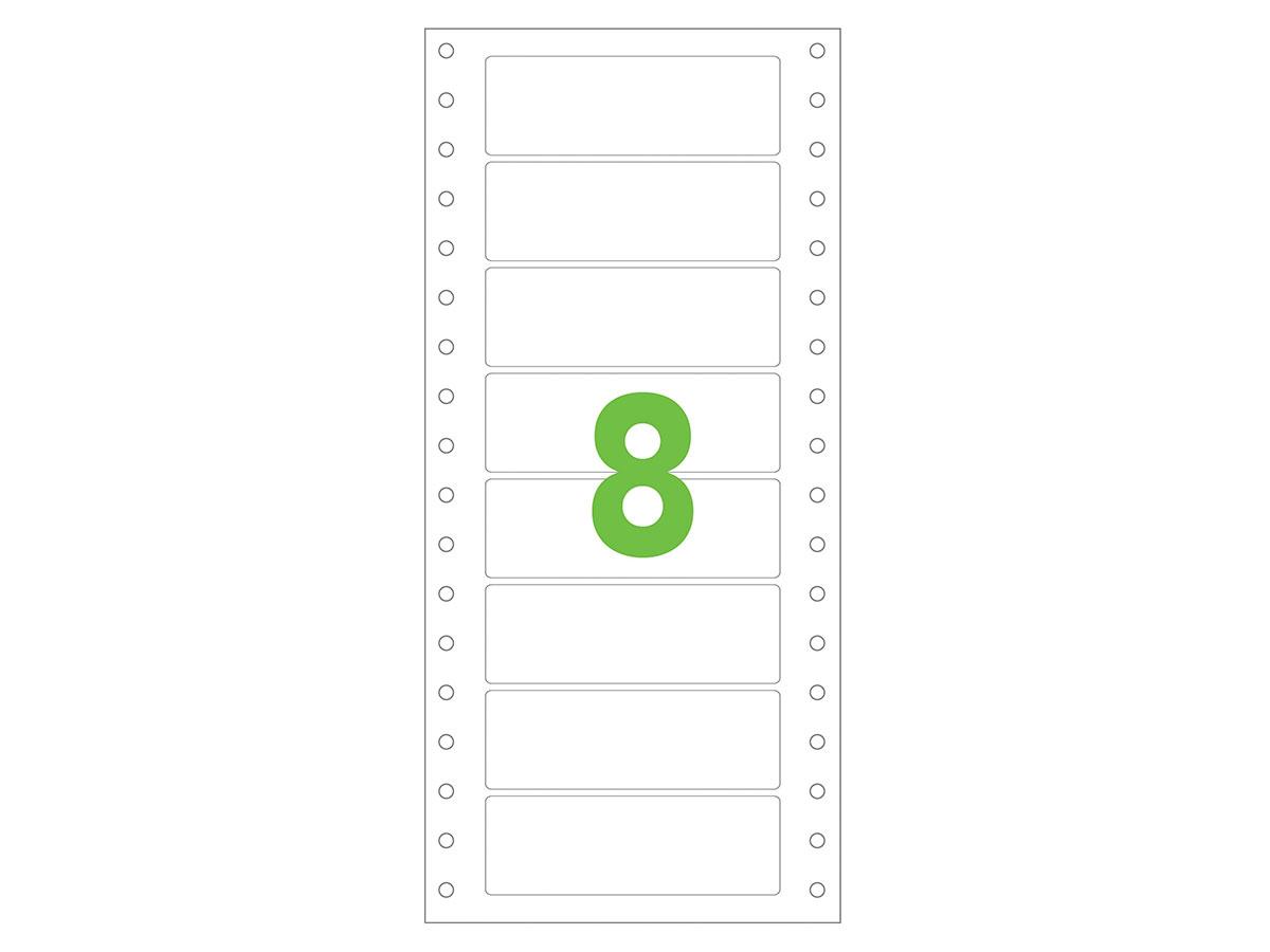 Etiqueta Continua Matricial, 107 x 36,1 mm, Contém 4000 Unidades, Colacril - AECCQI3008