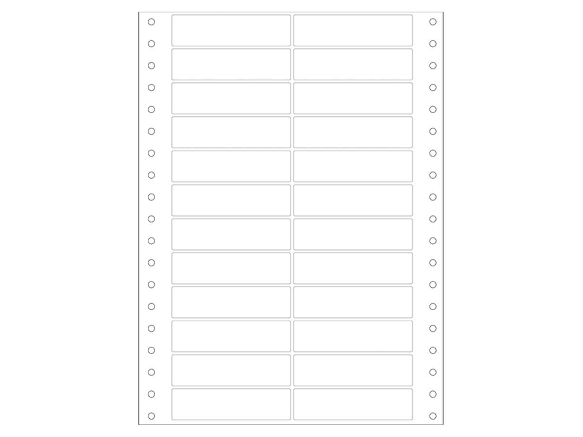 Etiqueta Continua Matricial, 89 x 23,4 mm, Contém 12000 Etiquetas, Colacril - AECCQI3019