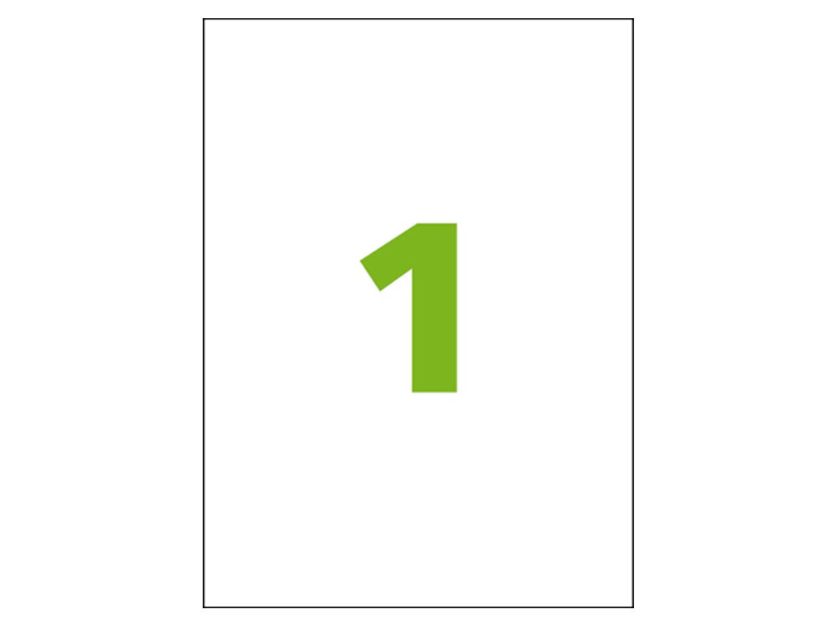 Etiqueta Inkjet e Laser Carta CC185, 279,4 x 215,9 x 1 mm, 100 Folhas, Colacril - AELCCE4001