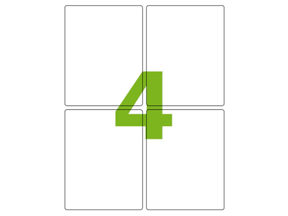 Etiqueta Inkjet e Laser Carta CC188, 138,11 x 106,36 x 2 mm, 100 Folhas, Colacril - AELCCE4083