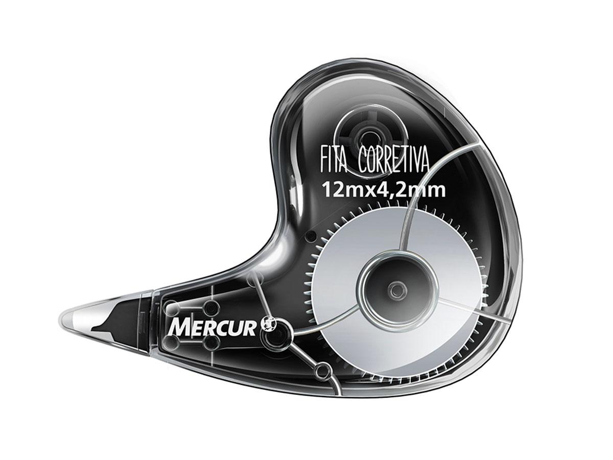 Fita Corretiva 12 m Caixa Com 06 Unidades Mercur - B01010103011