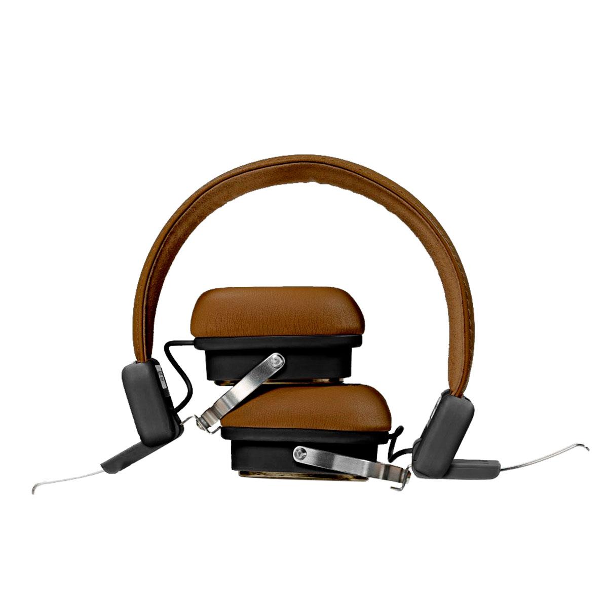 Fone Bluetooth C3Tech PH-B600BW, Marrom