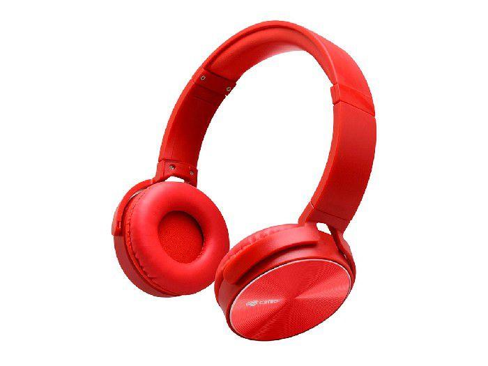 Fone C/microfone C3tech PH-110RD Dobrável Vermelho