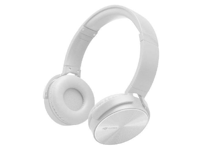 Fone C/microfone C3tech PH-110WH Dobrável Branco