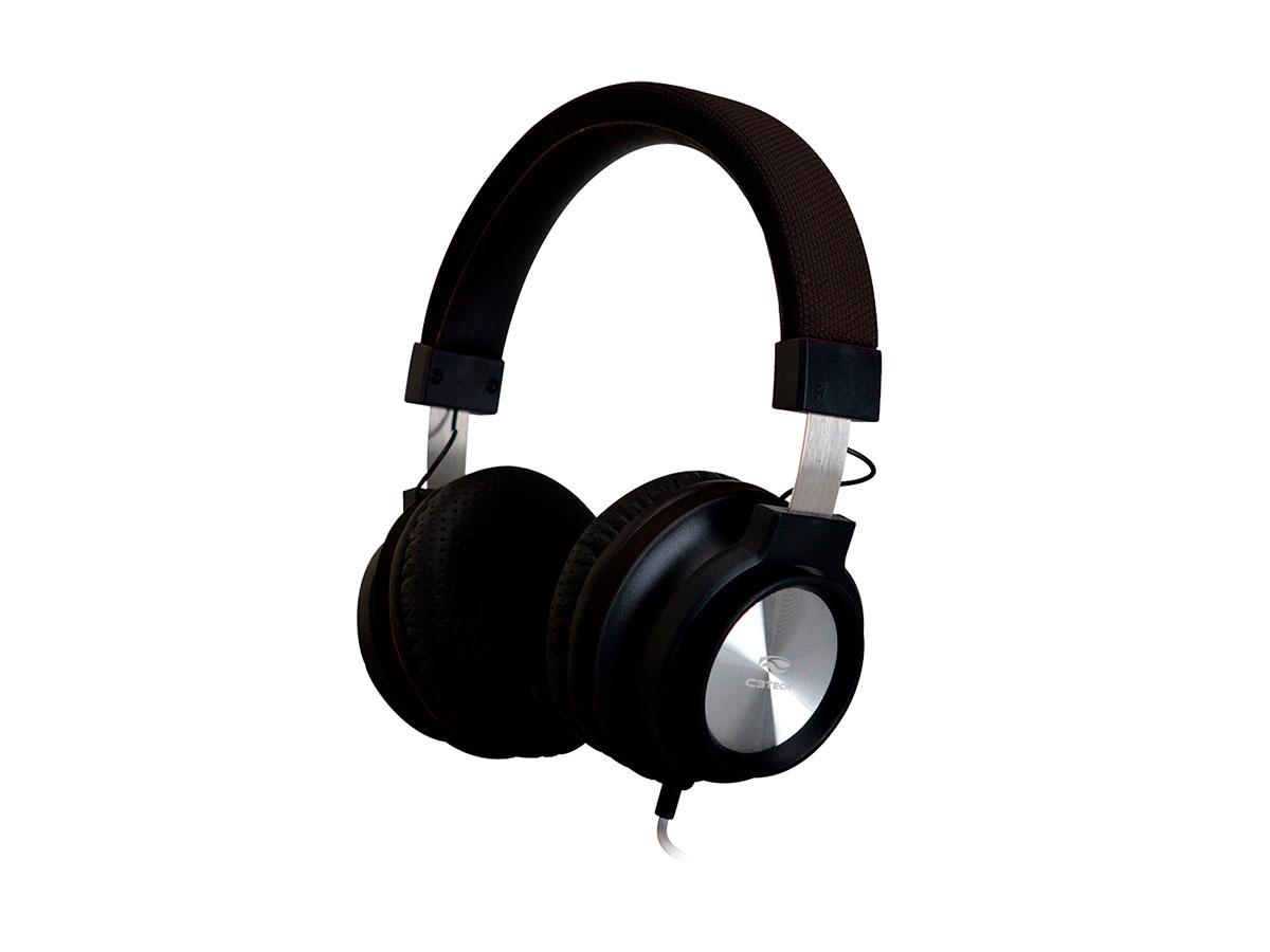 Fone C/microfone C3tech PH-300BK Preto