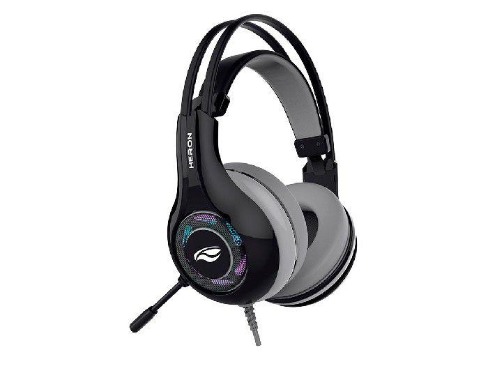 Fone C/Microfone Gamer C3Tech Usb Heron 2 PH-G701BKV2