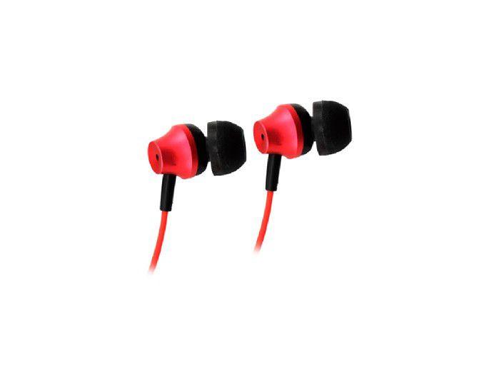 Fone C/microfone Metal Vermelho Oex FN403