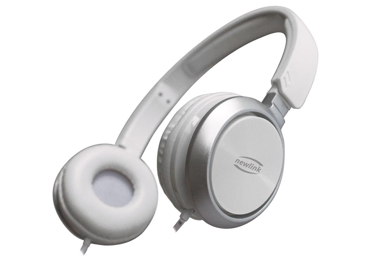 Fone C/microfone Newlink Premium Branco HS115NL