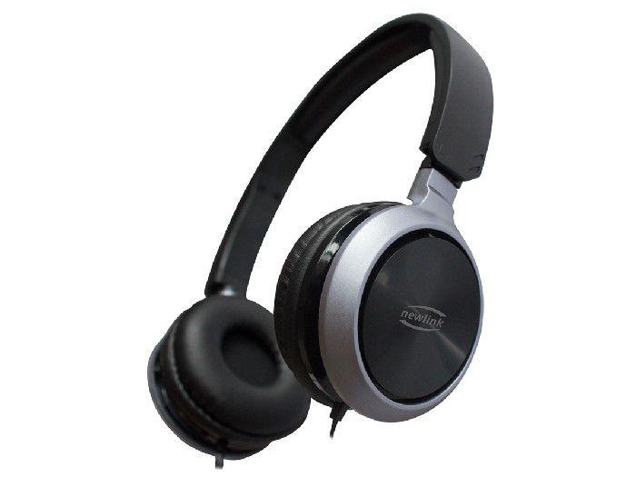 Fone C/microfone Newlink Premium Preto HS115NL