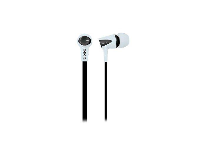Fone C/microfone Oex Colorhit Preto/branco FN203