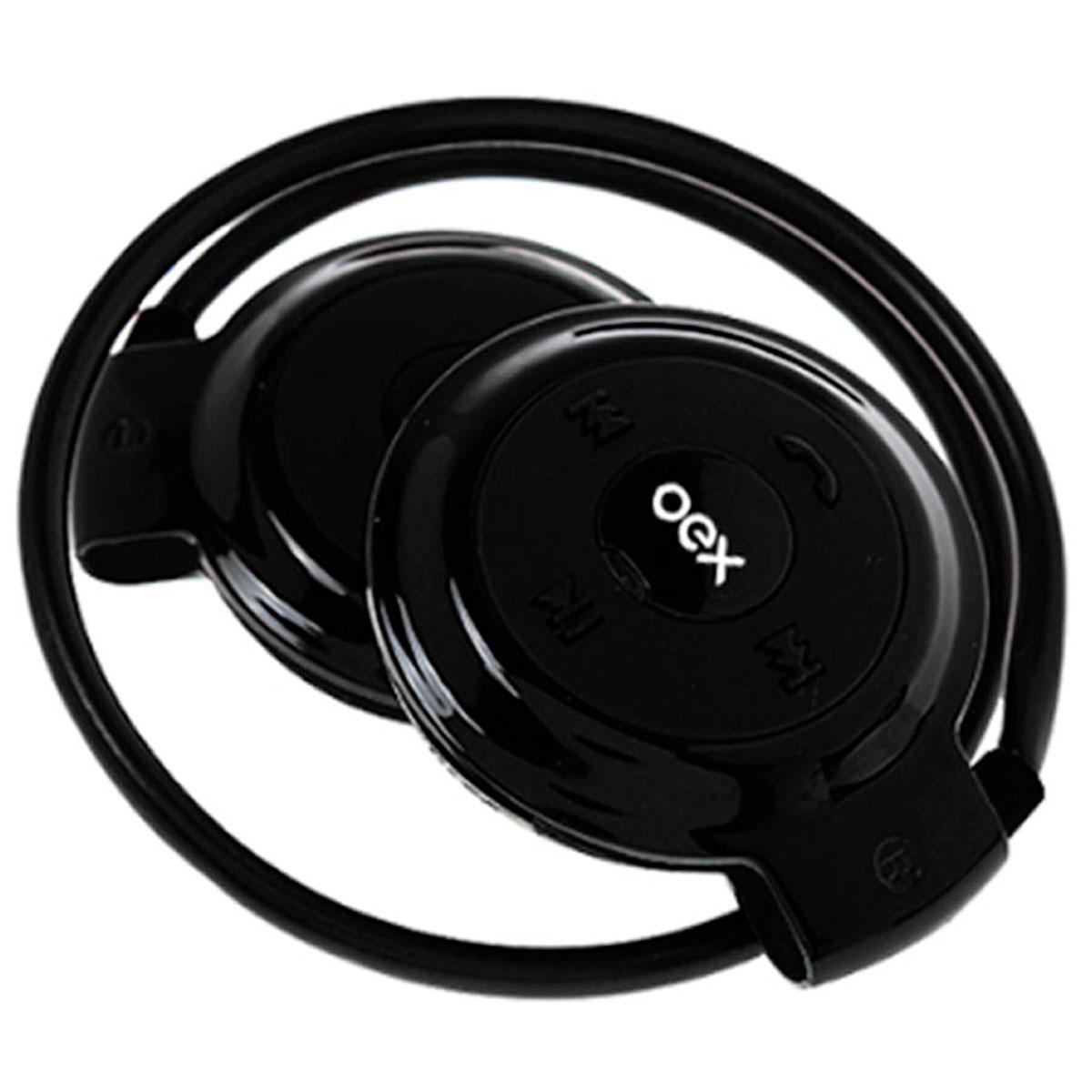 Fone de Ouvido Bluetooth Oex Spin HS308, Função Hands Free, Preto