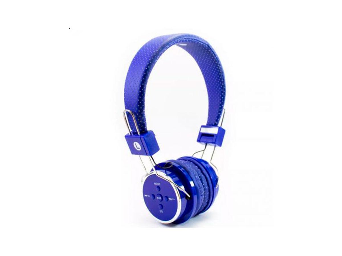 Fone de Ouvido GV Brasil B-05, Bluetooth, P2 3.5mm, Azul - FN.1130