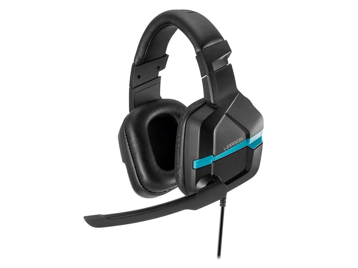 Fone de Ouvido Headset Gamer Multilaser Askari P2 Ps4 Azul Warrior - PH292