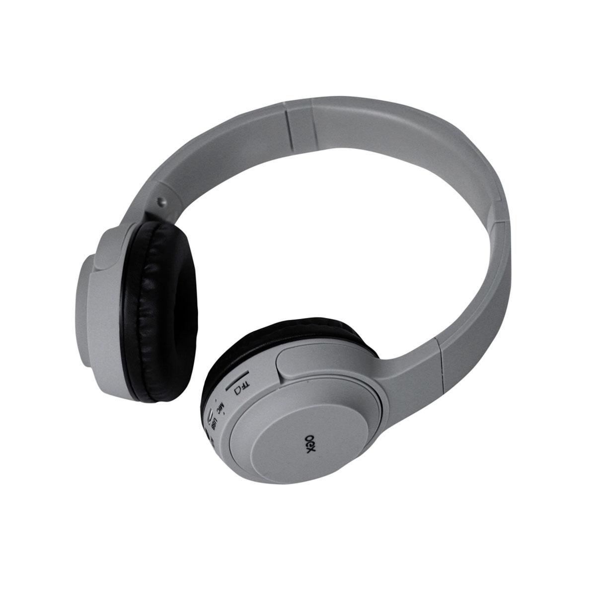 Fone de Ouvido Infantil OEX POP HS315, Bluetooth (Versão 5.0), Cinza