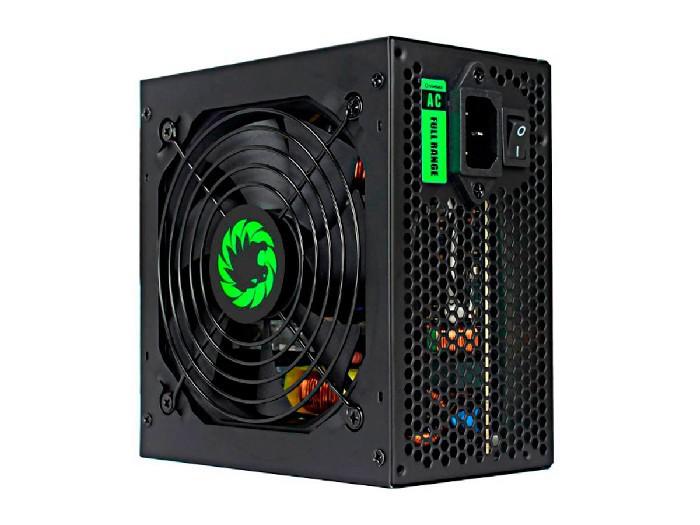 Fonte Alimentação Gamer ATX Gamemax 400W Real GP400A,  PFC Ativo, 80 Plus Bronze - Preta