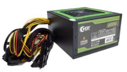 FONTE ALIMENTACAO ATX GBT 600W MP600W3-1 C/CAIXA S/CABO