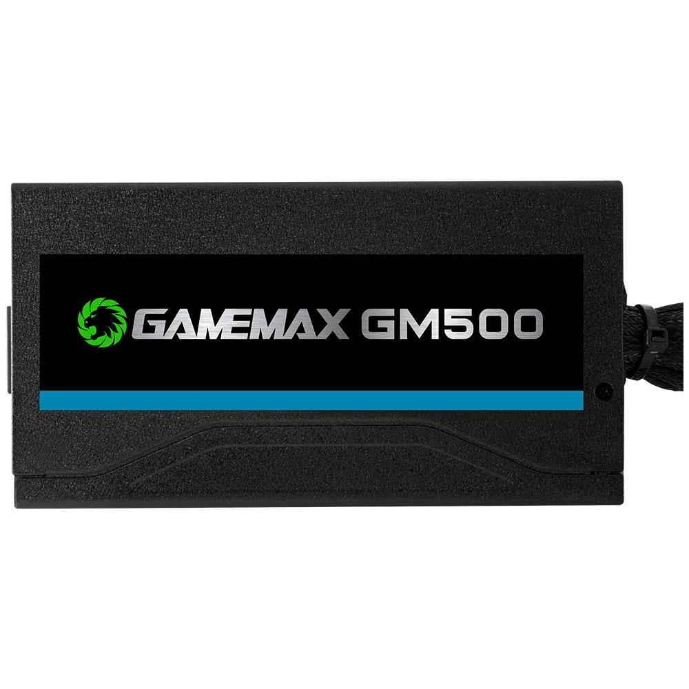 Fonte Alimentação Gamer ATX Gamemax 500W Real GM500 80 Plus Bronze OEM C/ Cabo
