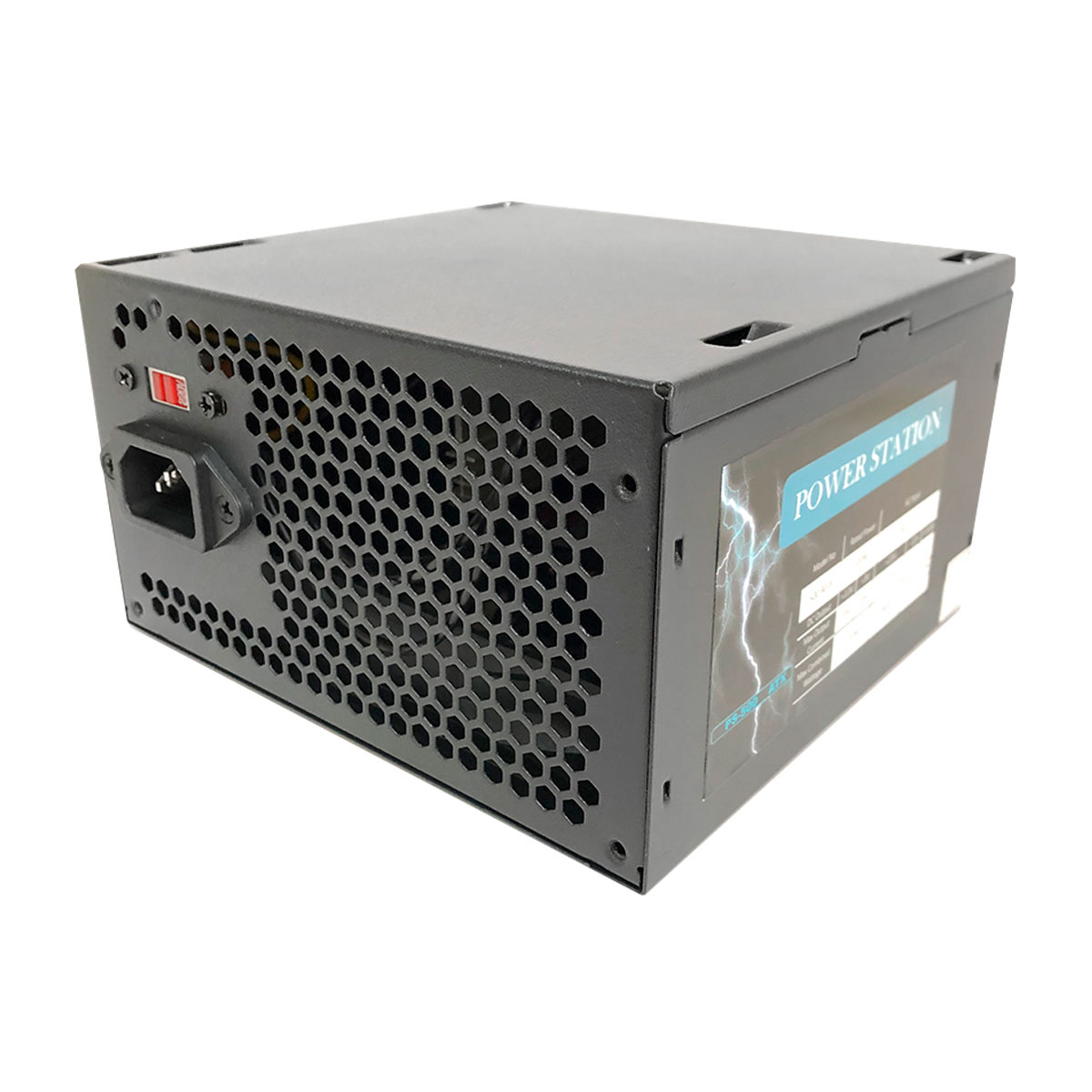 Fonte ATX Power Station PS-500 500W, Bivolt, Preto