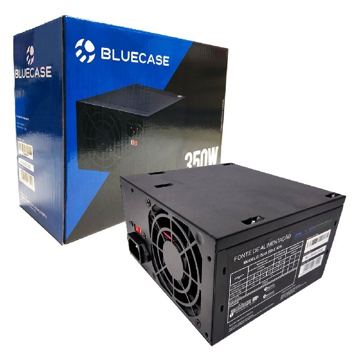 Fonte Bluecase BLU350-E ATX, 350W, Bivolt Manual