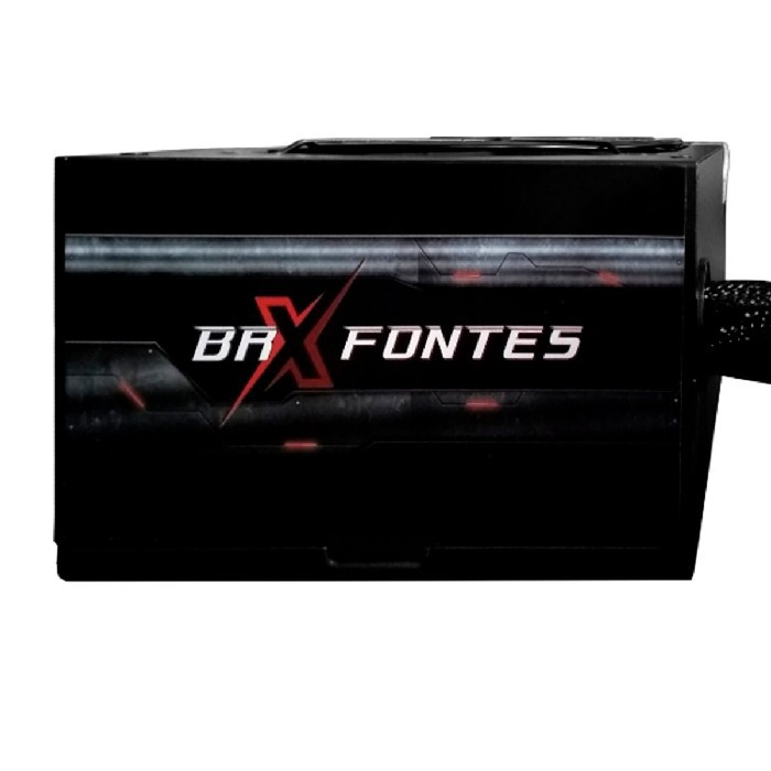 Fonte Gamer ATX BRX B-S800W, 800W Real, Cooler120mm, Bivolt Chaveada