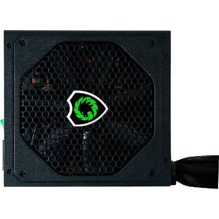 Fonte Gamer ATX Gamemax GM600 600W Semi-Modular 80 Plus Bronze PFC Ativo Preta